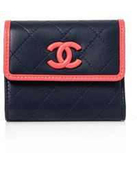 Chanel - Pre-owned Short Wallet - Lyst