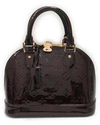 Longchamp. Roseau Leather Crossbody Bag.  420. Nordstrom · Louis Vuitton -  Alma Bb 2way Shoulder Handbag M91678 Verni Amarantand - Lyst 4bbb2ace1abee