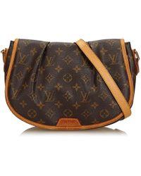 Louis Vuitton | Monogram Menilmontant Pm | Lyst