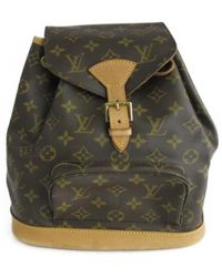 Louis Vuitton - Montsouris Mm Backpack Monogram Canvas M51136 - Lyst