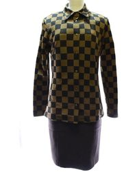 Fendi - One Piece×polyamide / Polyester Brown Suit Women - Lyst