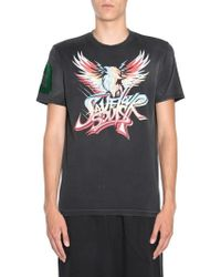 Givenchy - Round Collar T-shirt - Lyst