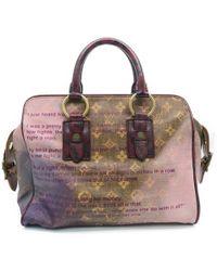 Louis Vuitton | Monogram Jokes Graduate Tote Bag Handbag Brown/ Pink 1093 | Lyst