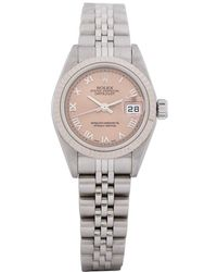 Rolex - Pre-owned Lady Oyster Perpetual Datejust - Lyst
