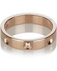 Louis Vuitton - Empreinte Pink Gold Ring - Lyst