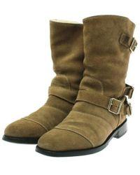 Balmain - Boots Beige 41 - Lyst