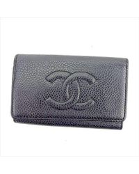 Chanel - Key Holder Coco Mark Mens Used T5562 - Lyst