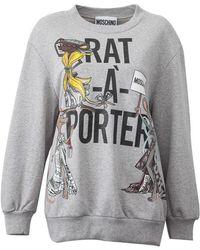 Moschino - Printed Sweatshirt - Lyst