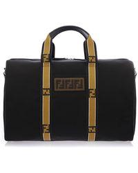Fendi - Bags Ss18 Black Ff Travel Bag - Lyst