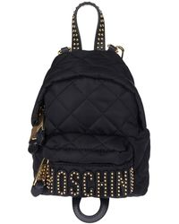 Moschino - Quilted Mini Backpack - Lyst