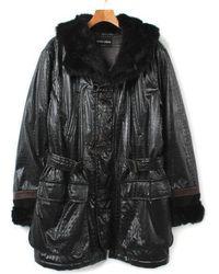 3a26b33c99e8 Lyst - Giorgio Armani Blouson Black 50 in Black
