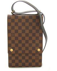 Louis Vuitton | Portobello Shoulder Bag N45271 Damier Brown | Lyst