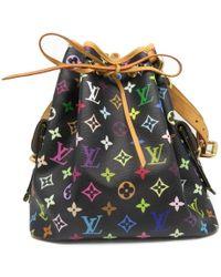 Louis Vuitton - Lv Petit Noe Shoulder Bag Monogram Multicolor M42230 3366 - Lyst