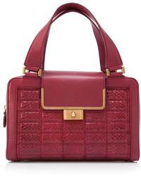 Pre-owned - Leather handbag Jimmy Choo London 0CZhfCD