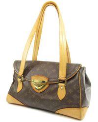 Louis Vuitton | Monogram Canvas Shoulder Bag M40120 Beverly Gm | Lyst