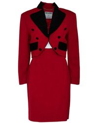 Moschino - Jacket And Skirt Suit - Lyst