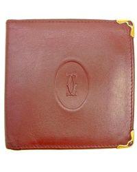 a3d9c22fd6eb Cartier - Wallet Purse Bifold Wallet Must Line Ladies   Men  s Yes