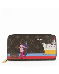 Louis Vuitton | Monogram · Zippy Wallet · Zip Aroundpurse / M62135 / Brown / | Lyst