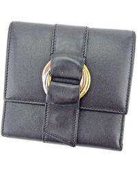Cartier - Triple Wallet Trinity Mens Used T5486 - Lyst