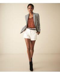 Reiss - Lyla - Tailored Shorts - Lyst