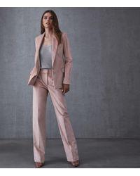 Reiss - Carie Jacket - Corduroy Tailored Blazer - Lyst