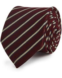 Reiss - Sebastien Diagonal Stripe Tie - Lyst