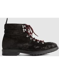 Reiss - Harold - Hiking Boots - Lyst