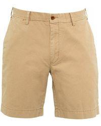 Ralph Lauren - Beige Boating Khaki Straight Fit Chino Shorts - Lyst