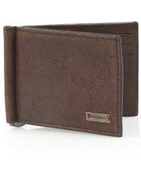 BOSS Orange - 'ramata' Chocolate Brown Card Clip Wallet - Lyst