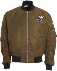 McQ - Cave Bomber, Ma1 Style Khaki Jacket - Lyst