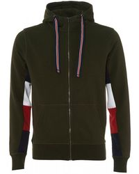 Tommy Hilfiger - Crest Back Hoodie, Roisin Green Hooded Sweatshirt - Lyst