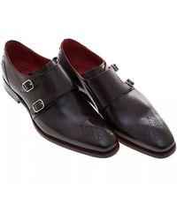 Jeffery West - Blood Hunger Dark Brown Monk Shoes - Lyst