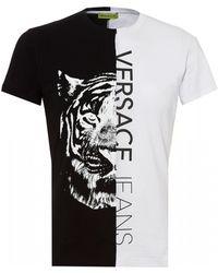 c0057866b79 Versace Jeans - Split Tiger Graphic T-shirt