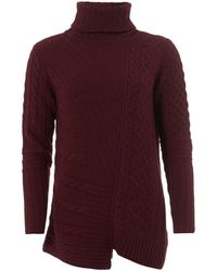Barbour - International Mondello Jumper, Roll Collar Barolo Jumper - Lyst