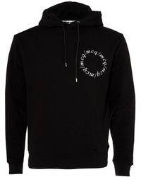 McQ - Centurion Hoodie, Black Hooded Sweatshirt - Lyst