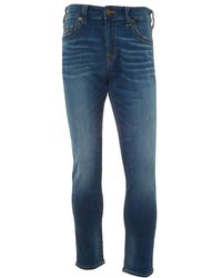 True Religion - Jack Desert Highway Jeans, Slim-fit Tapered Stretch Jeans - Lyst