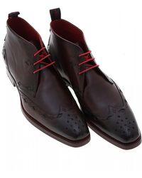 Jeffery West - Switchblade Dexter Brown Leather Chukka Boot - Lyst