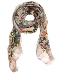 Patrizia Pepe - Scarf Light All Over Rose Square Foulard Scarf - Lyst