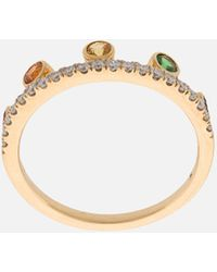 Khai Khai - Rainbow Crown Ring - Lyst