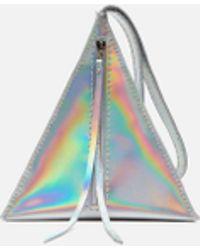 Wendy Nichol - Devil Star Bag In Silver Rainbow - Lyst