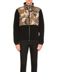 The North Face - Denali 2 Jacket In Black,abstract - Lyst