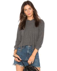LNA - Stormy Brushed Hoodie - Lyst