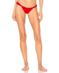 Indah - Pancho 80s Bottom In Red - Lyst