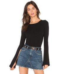 Line & Dot - Viviane Belled Cuffs Sweater - Lyst