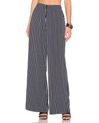 House of Harlow 1960 - X Revolve Mona Pant In Black & White - Lyst