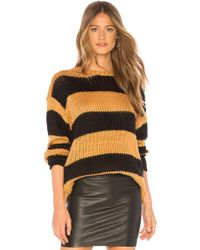 Lovers + Friends - The Amber Sweater In Black - Lyst