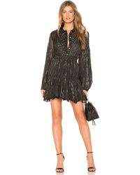 MISA - Nikola Dress In Black - Lyst