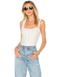 Free People - Make Me Up Bodysuit - Lyst