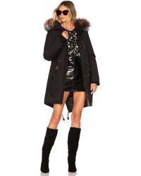 Mackage - Rena Jacket With Fur Trim In Black - Lyst