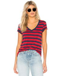 Levi's - Essential V Neck Tee In Navy - Lyst